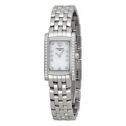 Longines Dolce Vita Mini Diamond Blue Mother of Pearl Dial Ladies Watch L51580926