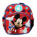 """Ruz Mickey Mouse Magic Stars small 10"""" inches Backpack for Boys or Girls"""