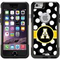Appalachian State Polka Dots Design on OtterBox Commuter Series Case for Apple iPhone 6