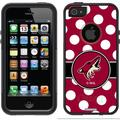 Phoenix Coyotes Polka Dots Design on OtterBox Commuter Series Case for Apple iPhone 5/5s