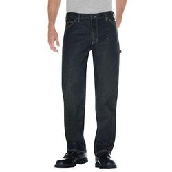 Men's Dickies Relaxed Fit Denim Carpenter Jeans, Size: 42X30, Blue