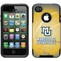 Marquette Basketball Design on OtterBox Commuter Series Case for Apple iPhone 4/4s