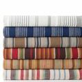 Pine Cone Hill Blue Heron 100% Cotton Blanket Cotton in Blue/Brown, Size Full/Queen | Wayfair BBHQ
