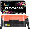 1 Pack (Yellow) Compatible Toner Cartridge for Samsung CLP-365 Toner Cartridges CLT-406S for Samsung K406S/C406S/M406S/Y406S 406S, Sold by 4Benefit