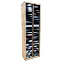 Wood Shed Multimedia Storage Rack Wood/Solid Wood in White, Size 26.88 H x 12.75 W x 6.75 D in | Wayfair 209-2 / Unfinished