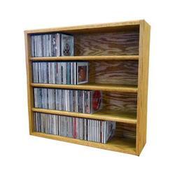 Wood Shed Multimedia Storage Rack Wood/Solid Wood in Brown, Size 24.75 H x 26.88 W x 6.75 D in   Wayfair 403-2 / Honey Oak