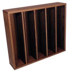 Wood Shed Multimedia Storage Rack Wood/Solid Wood in Black, Size 26.88 H x 30.75 W x 6.75 D in   Wayfair 509-2 / Dark
