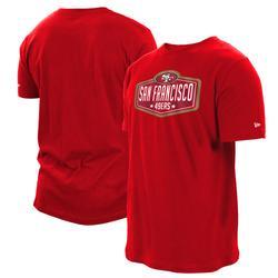 Men's New Era Scarlet San Francisco 49ers 2021 NFL Draft Hook T-Shirt