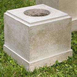 Campania International Classic Pedestal Stone in Gray, Size 24.0 H x 13.5 W x 13.5 D in | Wayfair PD-170-TR