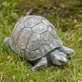 Campania International Small Turtle Statue in Blue/Black, Size 5.5 D in | Wayfair A-093-AL