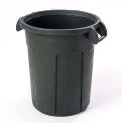 Toter Atlas Heavy Duty 32 Gallon Curbside Trash & Recycling Bin Plastic in Green, Size 26.88 H x 22.75 W x 22.75 D in | Wayfair RBR32-R1GRS
