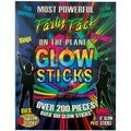 DM Merchandising Inc. Glow Stick 200 Pieces Party Pack with Connectors