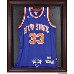 """""""New York Knicks Mahogany Framed Team Logo Jersey Display Case"""""""