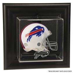 Buffalo Bills Black Framed Wall-Mountable Mini Helmet Display Case