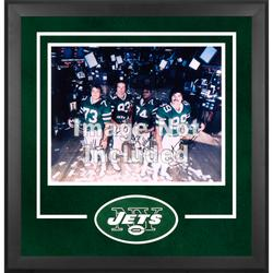 New York Jets Deluxe 16'' x 20'' Horizontal Photograph Frame with Team Logo