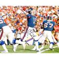 Autographed New York Giants Phil Simms Fanatics Authentic 8'' x 10'' Throwing Photograph