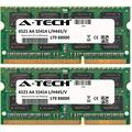 A-Tech 8GB KIT (2 x 4GB) For IBM-Lenovo IdeaPad Notebook Series N580 N581 N585 N586 P400 Touch P500 P580 P585 U410 U510 V470 V480 V570 Y400 Y410p Y47. SO-DIMM DDR3 NON-ECC PC3-12800 1600MHz RAM Memory