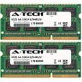 A-Tech 16GB KIT (2 x 8GB) For Dell Precision Notebook Series Mobile Workstation M4500 Mobile Workstation M4500 (Quad Core) Mobile Workstation M4600 M. SO-DIMM DDR3 NON-ECC PC3-10600 1333MHz RAM Memory