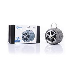 Tmvel Tire Waterproof IPX7 Rugged Wireless Portable Bluetooth Speaker, Shower Speaker, With Suction Cup - Great For Outdoors