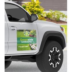"{Set of 2} Custom Full Color 18"" x 24"" Car Van Magnet. (please upload your info after buying)"