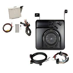 GM # 19303115 Kicker200 / 400 Watt Powered Subwoofer and Amp, Double Cab GENUINE GM ACCESSORIES