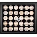 Philadelphia Phillies Fanatics Authentic Logo Black Framed 30-Ball Display Case
