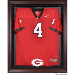 Georgia Bulldogs Fanatics Authentic Mahogany Framed Logo Jersey Display Case