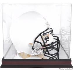 Navy Midshipmen Fanatics Authentic Mahogany Base Team Logo Helmet Display Case with Mirrored Back