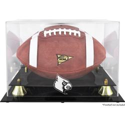 Louisville Cardinals Fanatics Authentic Golden Classic Logo Football Display Case with Mirror Back