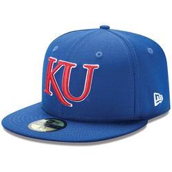 New Era Kansas Jayhawks 59FIFTY Basic Fitted Hat