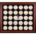 St. Louis Cardinals Fanatics Authentic Logo Mahogany Framed 30-Ball Display Case