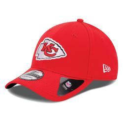 Kansas City Chiefs New Era 39THIRTY Team Classic Flex Hat - Red