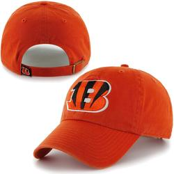Mens Cincinnati Bengals '47 Brand Orange Cleanup Adjustable Hat