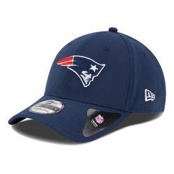 New England Patriots Era 39THIRTY Team Classic Flex Hat - Navy Blue