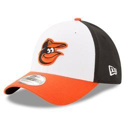 Men's New Era Black/White Baltimore Orioles MLB Team Classic 39THIRTY Flex Hat