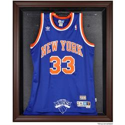 New York Knicks Fanatics Authentic Brown Framed Jersey Display Case