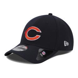 Chicago Bears New Era 39THIRTY Team Classic Flex Hat - Navy Blue