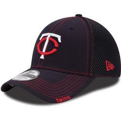 New Era Minnesota Twins Navy Blue Neo 39THIRTY Stretch Fit Hat