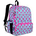 Wildkin 17 Inch Kids Backpack for Boys & Girls, Features Three Zippered Compartment with Interior & Side Pockets Backpacks, Perfect for School & Travel Backpack for Kids, BPA-free (Trellis)