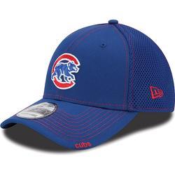 Men's New Era Royal Blue/Red Chicago Cubs Mascot Neo 39THIRTY Flex Hat