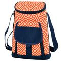 Picnic at Ascot 2 Bottle Diamond Wine & Cheese Cooler in Orange, Size 13.0 H x 9.5 W x 4.5 D in   Wayfair 398-DO