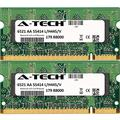 8GB KIT (2 x 4GB) for Dell XPS Notebook Series M1330 M1530 M1730. SO-DIMM DDR2 Non-ECC PC2-5300 667MHz RAM Memory. Genuine A-Tech Brand.