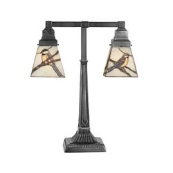 Meyda Lighting Early Morning Visitors 19 Inch Table Lamp - 107400