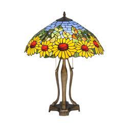 Meyda Lighting Wild Sunflower 24 Inch Table Lamp - 119682