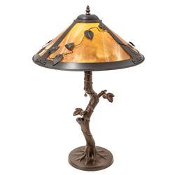 Meyda Lighting Mission Vine Leaf Table Lamp - 26296