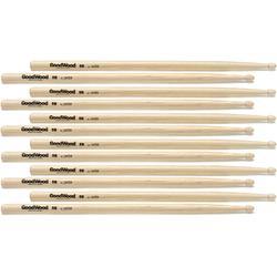 Goodwood US Hickory Drumsticks 6-pair - 5B - Wood Tip