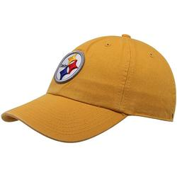 Mens Pittsburgh Steelers '47 Brand Gold Cleanup Adjustable Hat