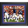 Phil Simms New York Giants Fanatics Authentic Framed Autographed 16'' x 20'' Throwing Photograph