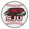 """St. Joseph's Baseball Mat 27"""" diameter"""
