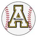 "Appalachian State Baseball Mat 27"" diameter"
